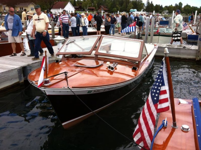 Les Cheneaux Islands Historic Boat Show 2013