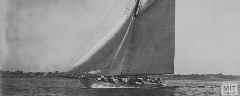 DORIS a 1905 Herreshoff cutter. Photo courtesy MIT.