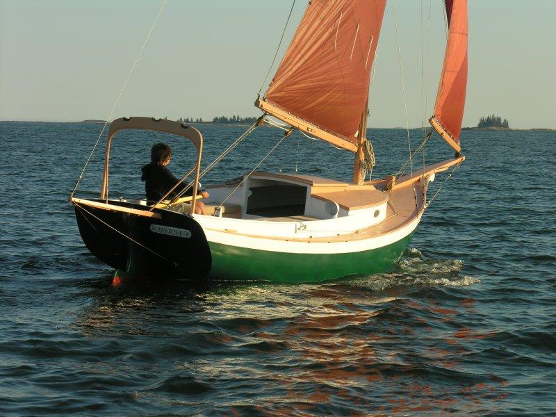 MARTHA, 20' Sallee Rover sloop