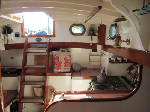 """ELIZABETH MUIR, 49' 6"""" Eastward schooner (Kees Prins photo)"""