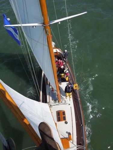 "ELIZABETH MUIR, 49' 6"" Eastward schooner"