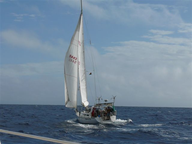 Enroute Erromango Island from Tanna