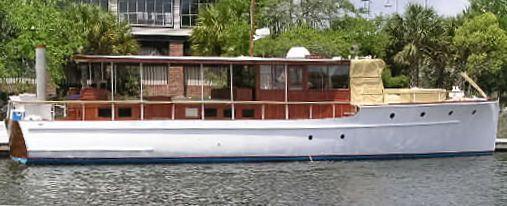 GATSBY, 57 foot Elco power cruiser