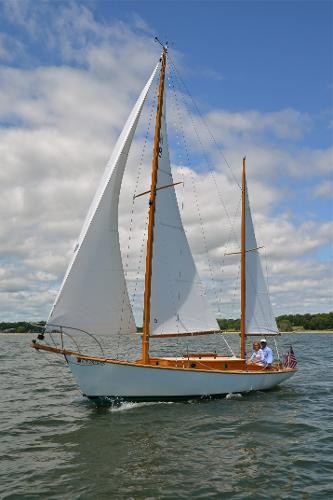 Holiday under sail.