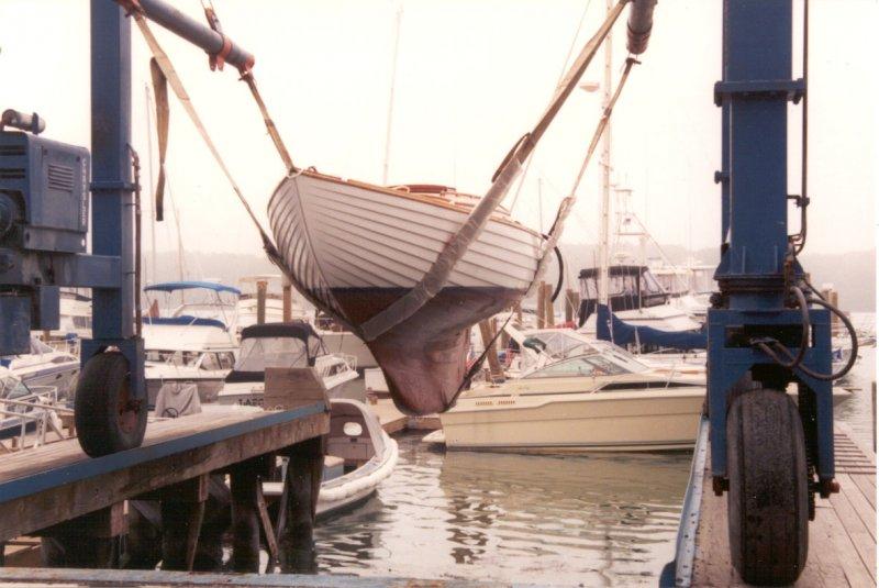 FITTING END folk boat.