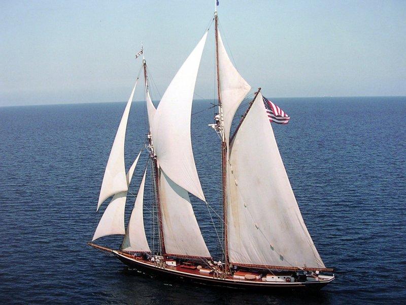 HIGHLANDER SEA ex-PILOT, 126' Burgess/James pilot schooner