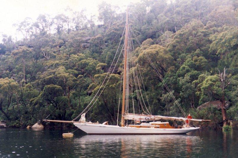 Ida at Anchor