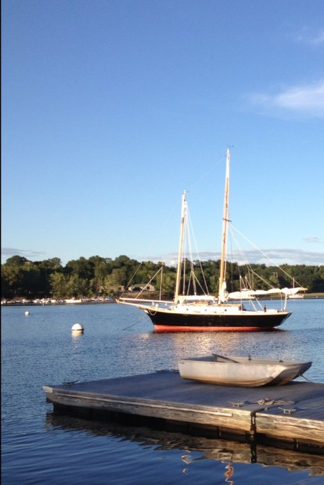BLACK PEARL, an Atkin Little Maid of Kent schooner