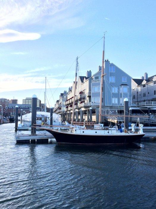 BLACK PEARL, an Atkin Little Maid of Kent schooner