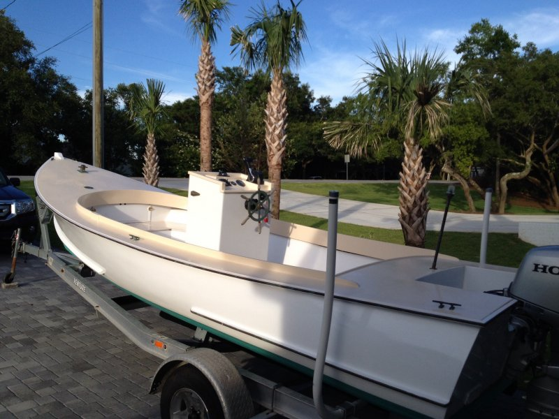 Ocean Pointer skiff