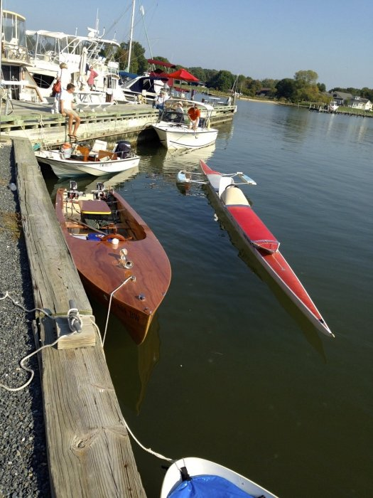 19' Erged On II and 43' Electrashell II Miles River 2013