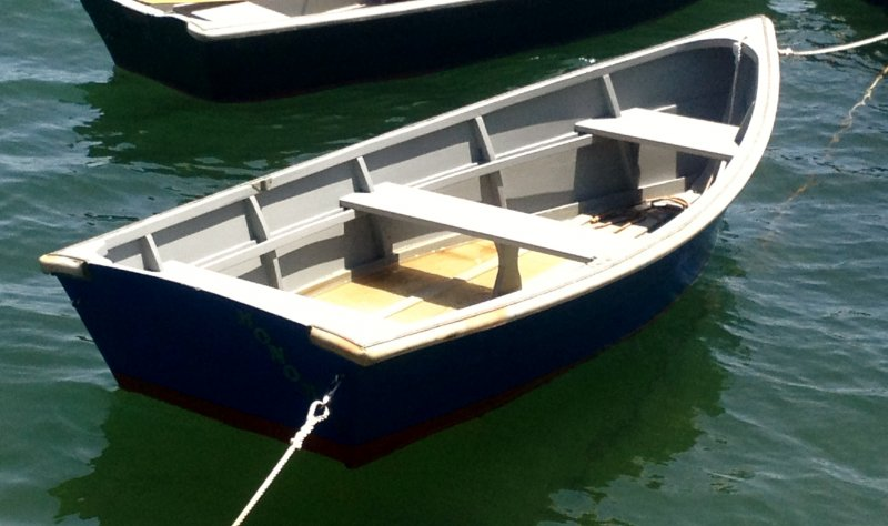 MONOMOY is a flat bottomed skiff