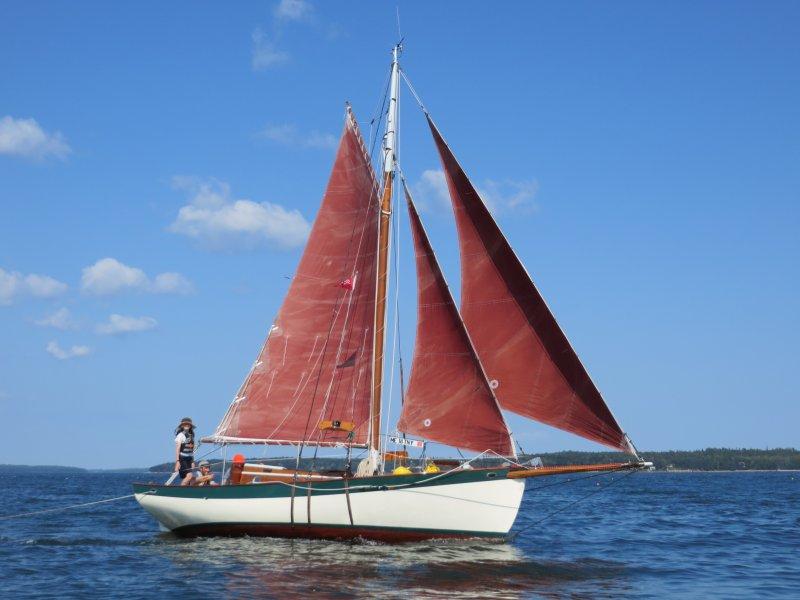 Kite under sail