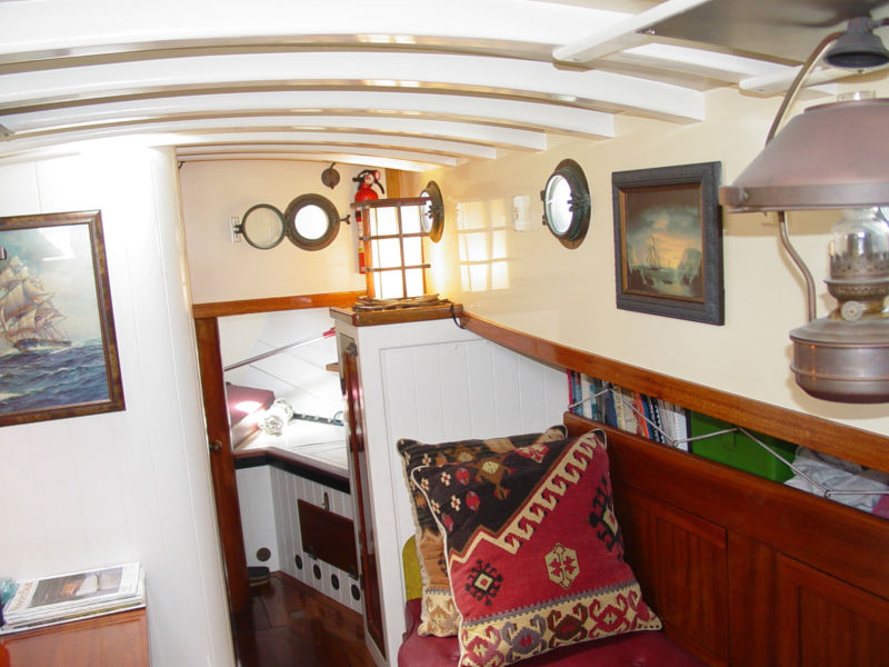 Sea Haggis cabin looking forward