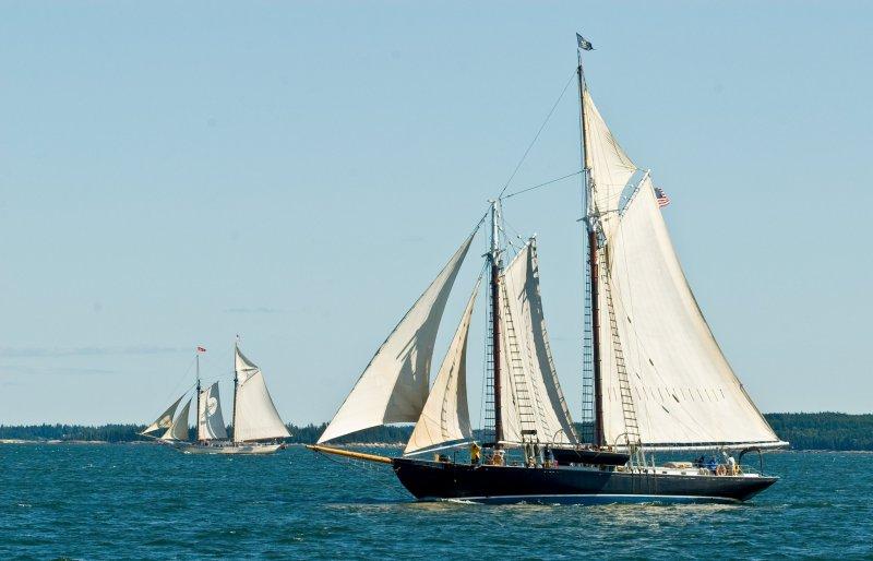 NATHANIEL BOWDITCH, 82' Wm. Hand schooner, circa 2012