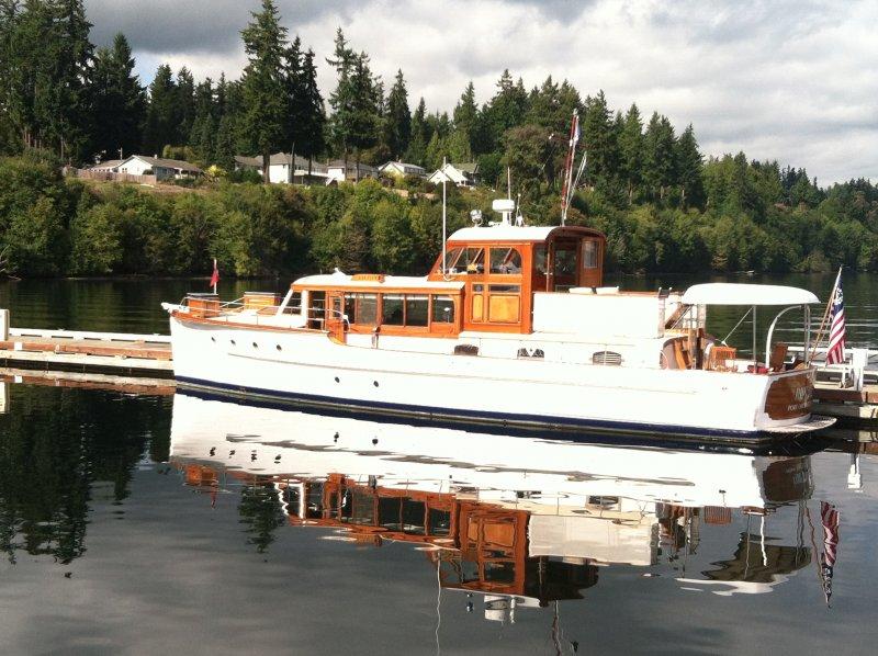 RIPTIDE 53 foot motor yacht