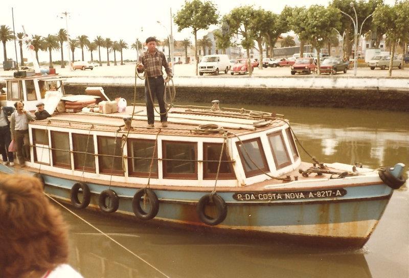 Old  career boat