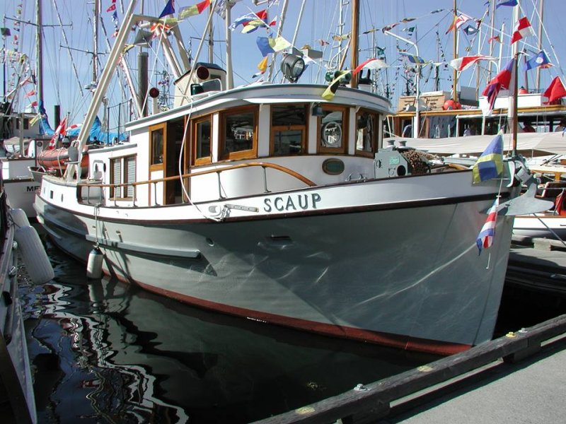 Photo of SCAUP courtesy of Classic Yacht Association