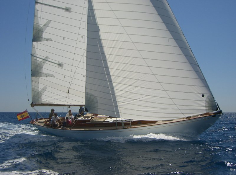HESPERUS 49 foot Alden sloop.
