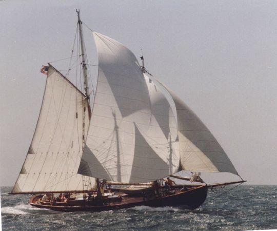VOYAGER, 50' Alden/Morse schooner