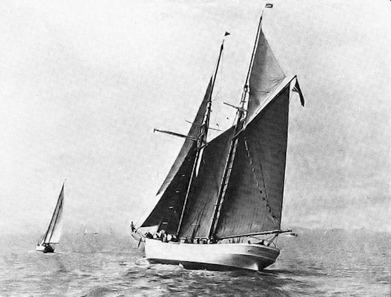 ELBE 5 as WANDER BIRD San Francisco Bay c. 1938