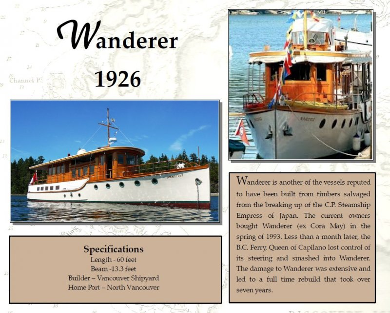 WANDERER photo courtesy of Classic Yacht Association