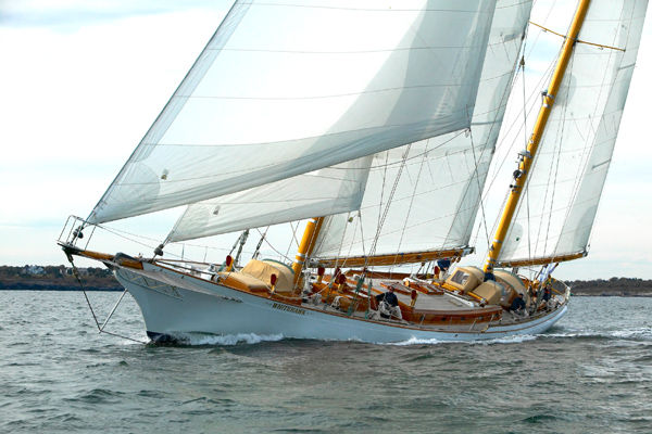 WHITEHAWK, a Bruce King custom ketch