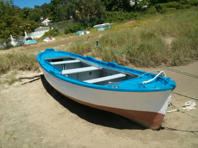 A traditional Galician boat photo 3.