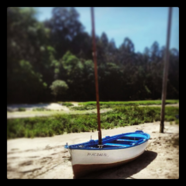 A traditional Galician boat photo 1.