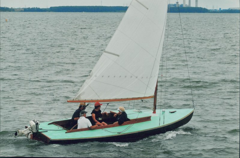 MEMORIES, a K-cat built by Luedke Bros. of Toledo, Ohio.