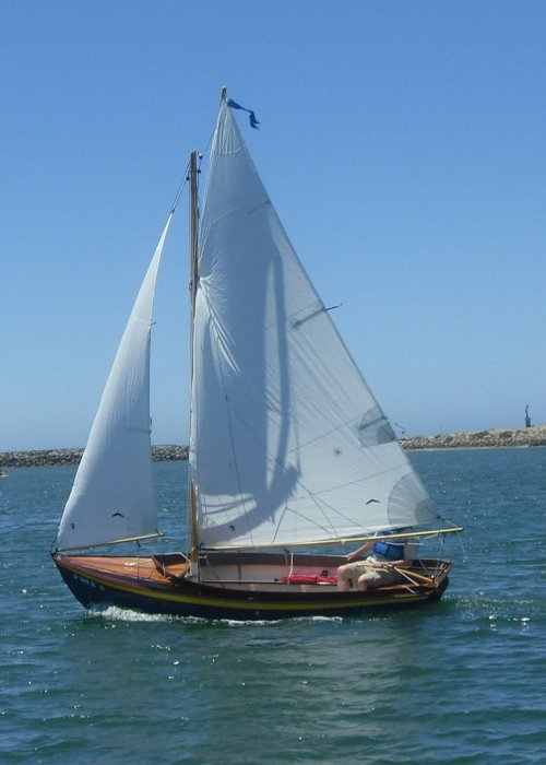 Sailing Ventura Harbor