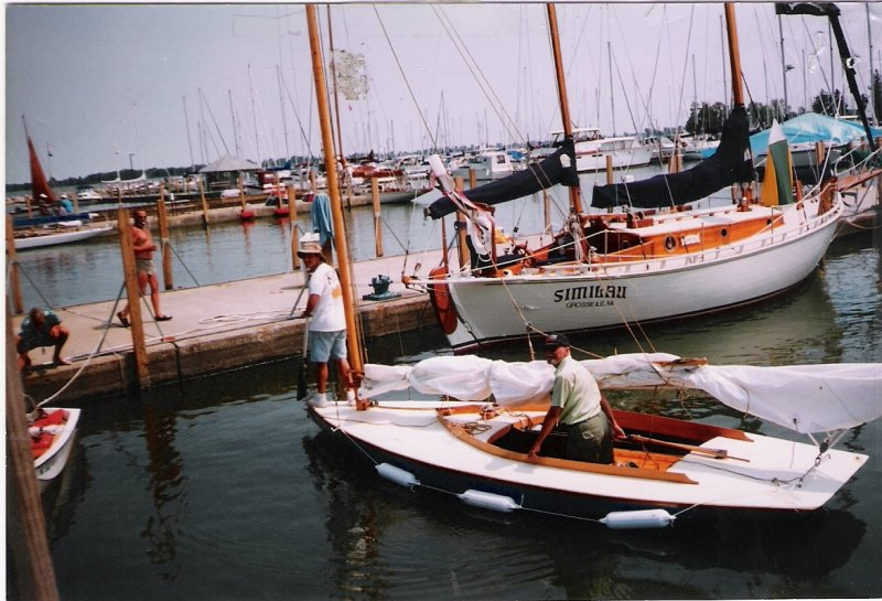 Mower catboat, PHANTOM, designed 1902, built 1932.