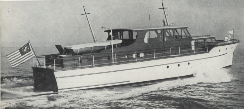 COPRO III during her first year on the water.