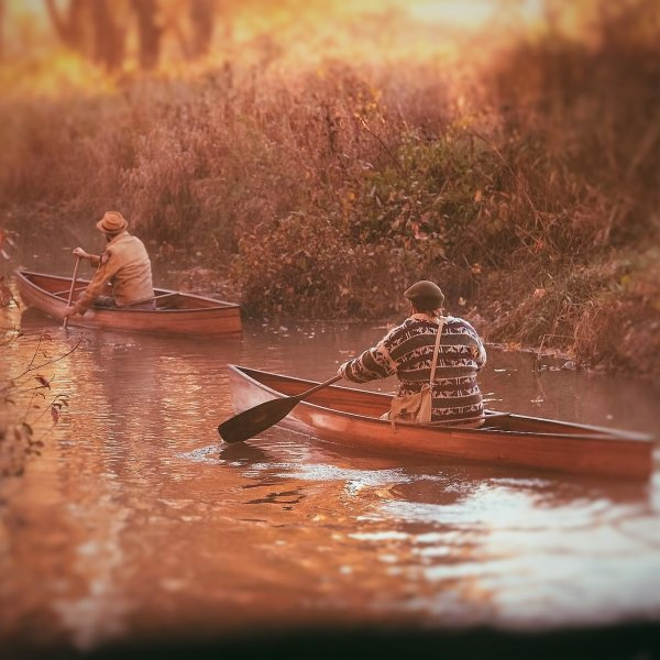Solo Canoe for Cedar Strip Construction - From Ashes Still Water boats.