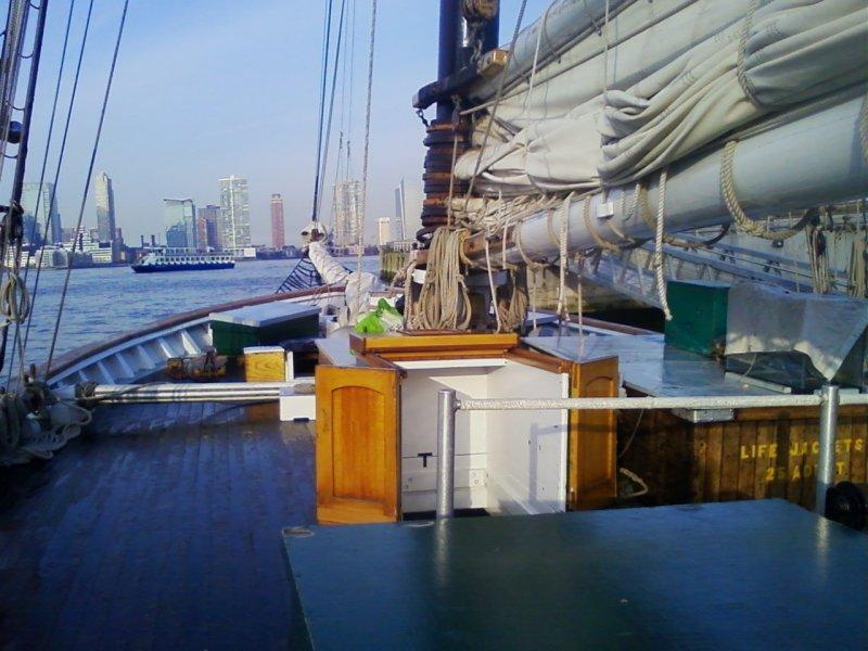 CLEARWATER, Hudson River sloop.