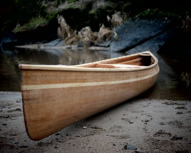 Canoe Plans for an Ashes Solo Quick
