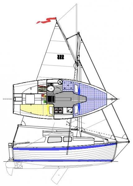 165 sail and interior