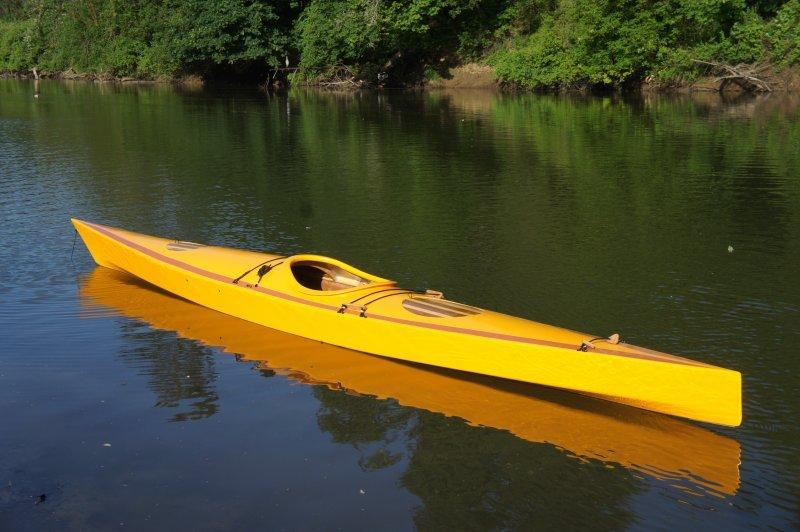 Mike's kayak