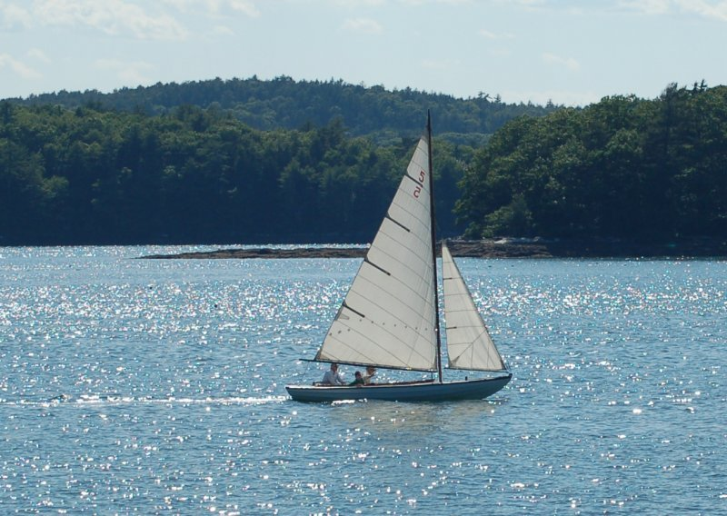 HIGH TIME on the Damariscotta, June 2014