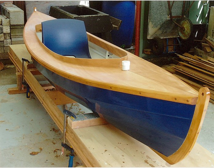 Fiddlehead canoe