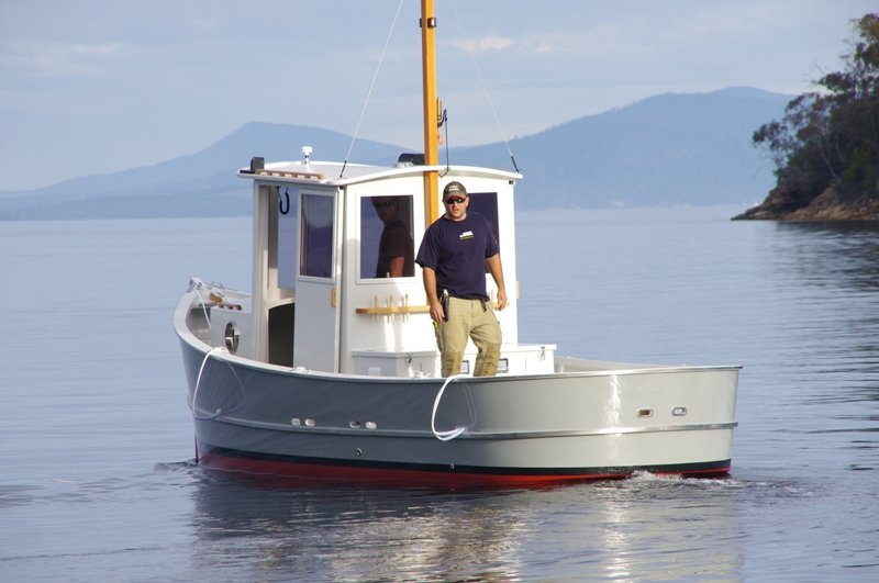 Catboat Conversion with Small Pilothouse - I need a design
