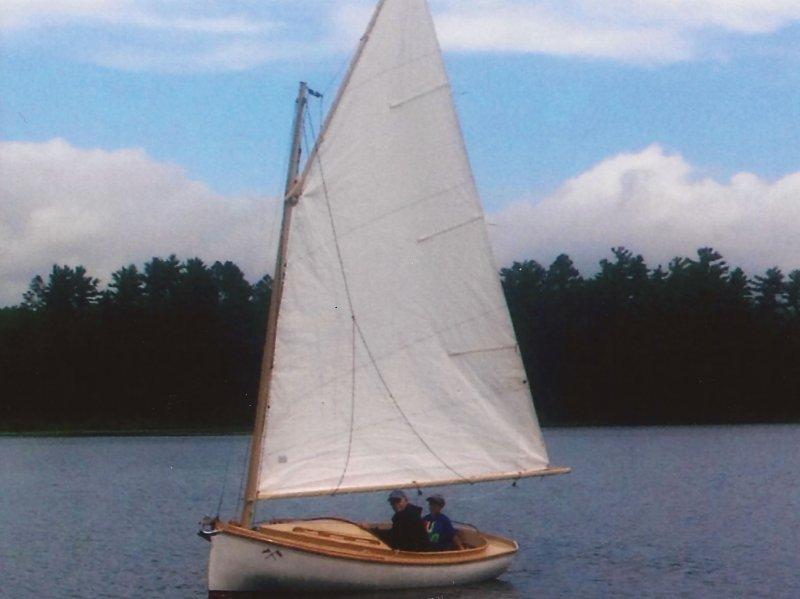 DON GATO under sail