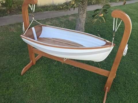 Cradle boat.