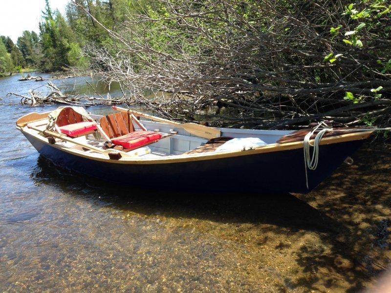 The Drift Boat Skiff