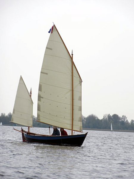 Launching at Uitgeestermeer