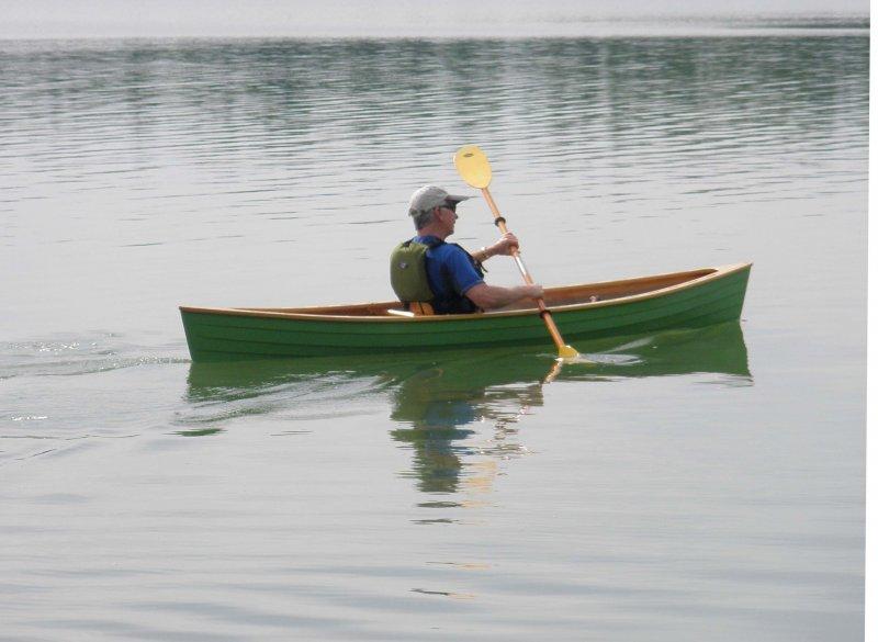 Double-Paddle Canoe Designs?