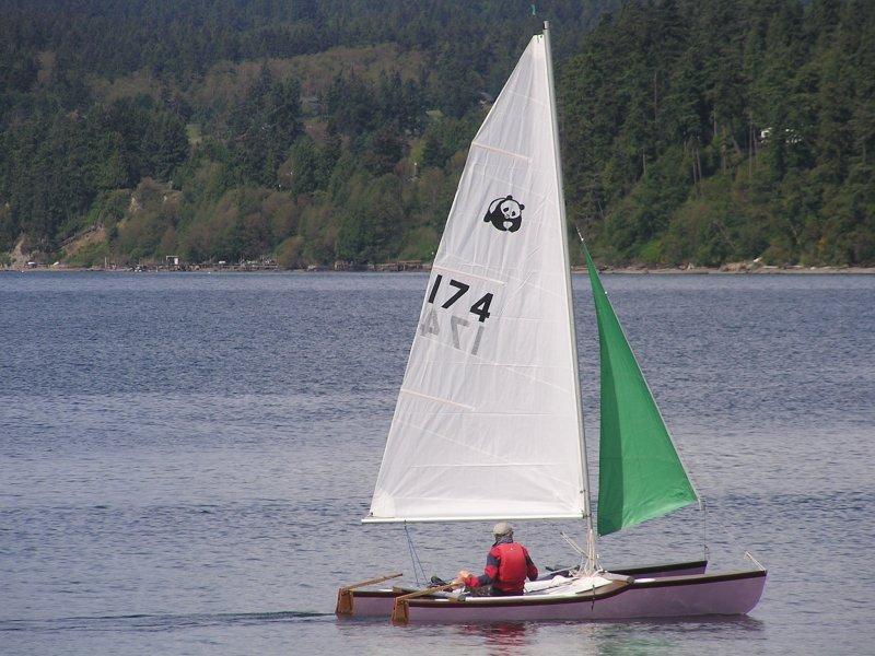 Jack Holt designed catamaran photo