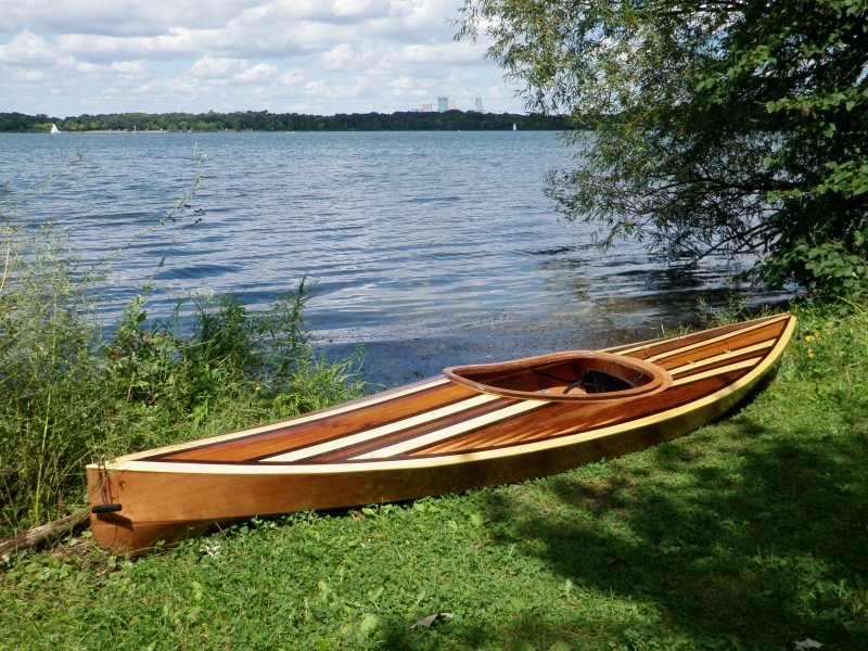 Neal Goman's Wood Duck Kayak
