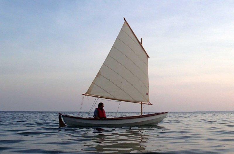 CLC Skerry under sail