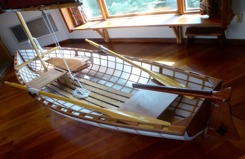 Platt Monfort sailing dinghy